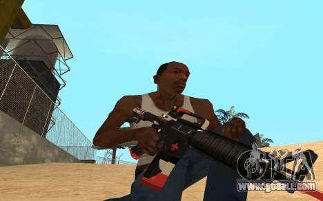 M4 Cyrex for GTA San Andreas third screenshot