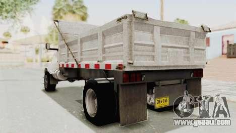 Chevrolet Kodiak Dumper Truck for GTA San Andreas left view