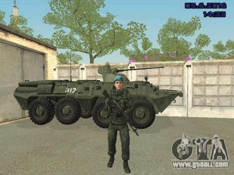 Modern Russian Soldiers pack for GTA San Andreas eleventh screenshot