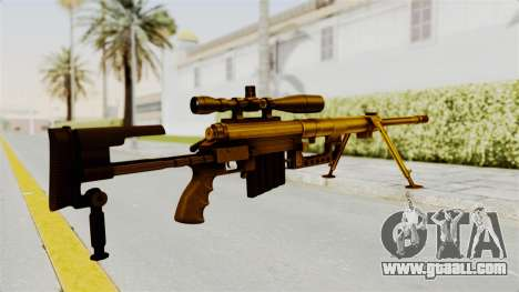 Cheytac M200 Intervention Gold for GTA San Andreas second screenshot