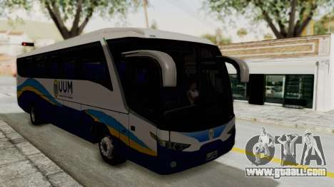 Marcopolo UUM Bus for GTA San Andreas right view