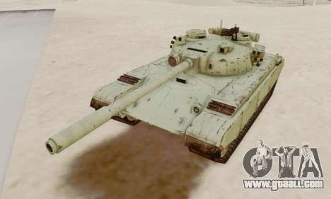 THE T-72A for GTA San Andreas
