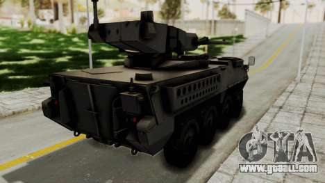 M1128 Mobile Gun System for GTA San Andreas left view