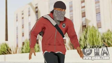 Battlefiled Hardline Professional Gang for GTA San Andreas