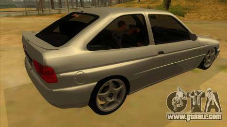 Ford Escort V2 for GTA San Andreas right view