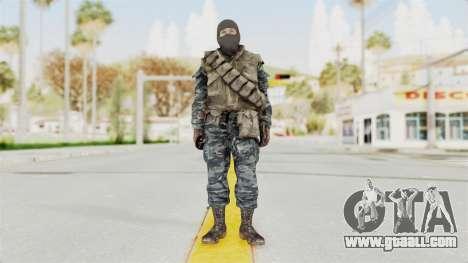 COD BO Russian Spetznas Flak MP v1 for GTA San Andreas second screenshot