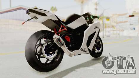 Kawasaki Ninja ZX-10R Modification for GTA San Andreas left view