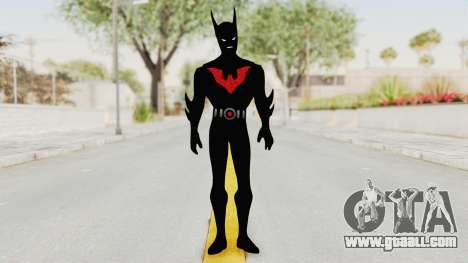 Batman Arkham Origins - Batman Beyond for GTA San Andreas second screenshot
