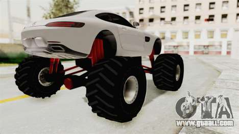 Mercedes-Benz AMG GT 2016 Monster Truck for GTA San Andreas right view