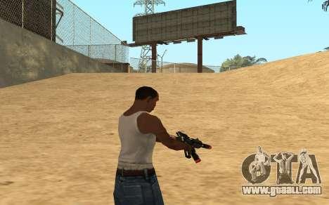 M4 Cyrex for GTA San Andreas sixth screenshot