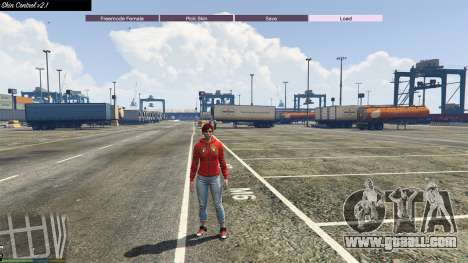 GTA 5 Skin Control 2.1 fourth screenshot