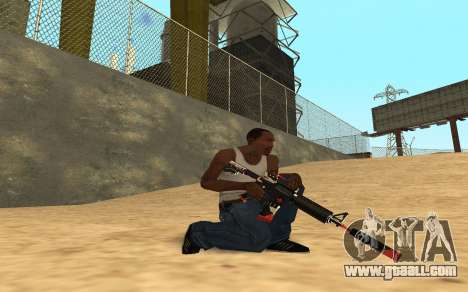 M4 Cyrex for GTA San Andreas eighth screenshot