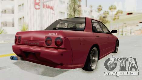 Nissan Skyline NAR32 for GTA San Andreas left view
