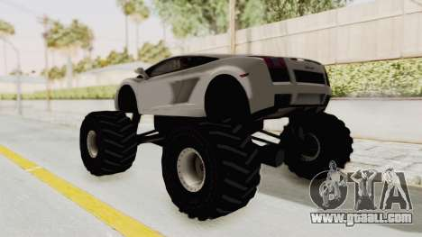 Lamborghini Gallardo 2005 Monster Truck for GTA San Andreas