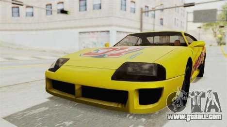 GTA 5 BuRGer Shot JeZter for GTA San Andreas right view