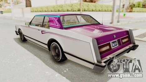 GTA 5 Dundreary Virgo Classic Custom v1 for GTA San Andreas engine
