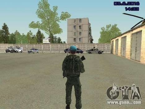 Modern Russian Soldiers pack for GTA San Andreas twelth screenshot