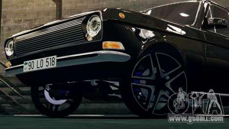 Gaz 24 Volga for GTA 4 left view