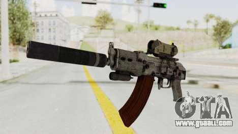 Combat SMG for GTA San Andreas second screenshot