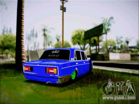 VAZ 2106 Tramp for GTA San Andreas left view