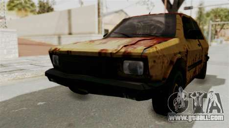 Zastava Yugo Koral 55 Rusty for GTA San Andreas