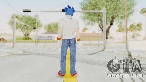 Sonic Man for GTA San Andreas third screenshot