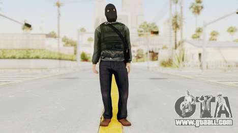 Battlefield 3 Bandit for GTA San Andreas second screenshot