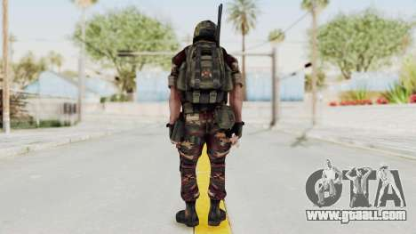 Battery Online Russian Soldier 3 v1 for GTA San Andreas third screenshot