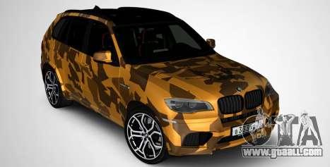 BMW X5M ( Davidich ) for GTA San Andreas