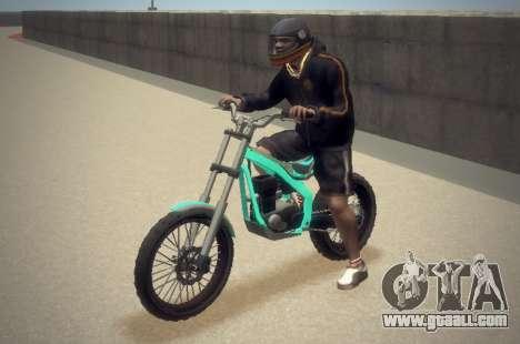 Trial Sanchez for GTA 4 back view
