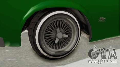 GTA 5 Declasse Sabre GT2 for GTA San Andreas back view