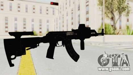 AK-47 Tactical for GTA San Andreas third screenshot