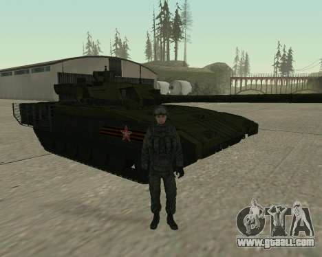 Modern Russian Soldiers pack for GTA San Andreas eighth screenshot
