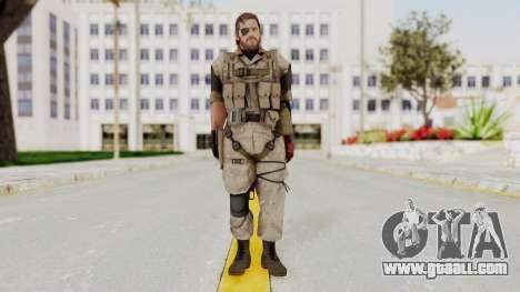 MGSV The Phantom Pain Venom Snake Desert for GTA San Andreas second screenshot