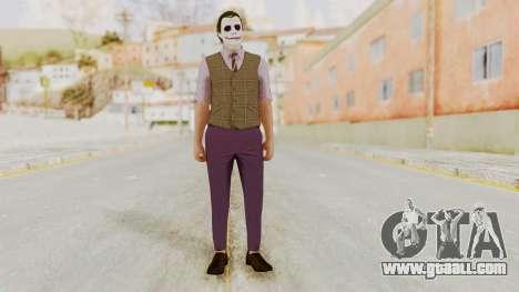 Joker Skin for GTA San Andreas second screenshot