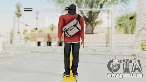 Battlefiled Hardline Professional Gang for GTA San Andreas third screenshot