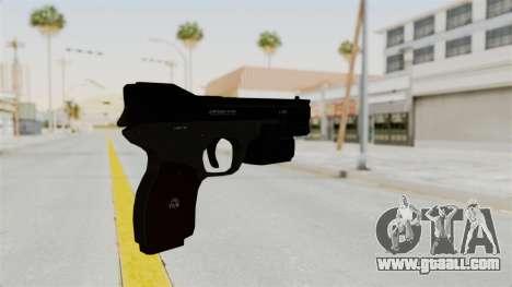 Killzone - M4 Semi-Automatic Pistol No Attach for GTA San Andreas second screenshot