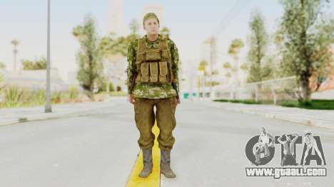 MGSV The Phantom Pain Soviet Union Vest v2 for GTA San Andreas second screenshot