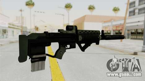 Killzone - M82 Assault Rifle Supressed for GTA San Andreas second screenshot