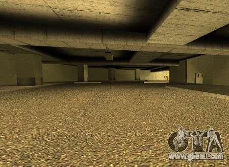 LSPD New Garage for GTA San Andreas third screenshot