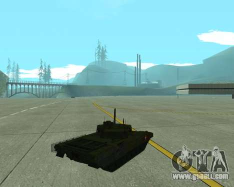T-14 Armata for GTA San Andreas back left view