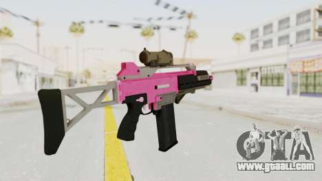 Special Carbine Pink Tint for GTA San Andreas second screenshot