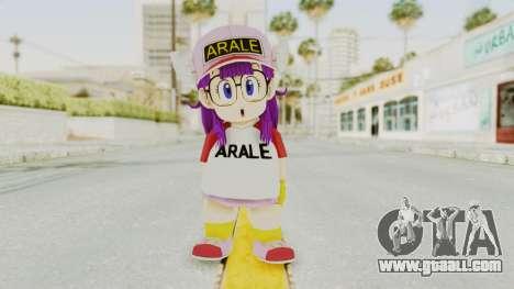 DBZBT3 - Arale for GTA San Andreas second screenshot