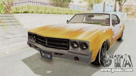 GTA 5 Declasse Sabre GT2 for GTA San Andreas side view