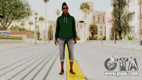 GTA 5 Denise Clinton v2 for GTA San Andreas second screenshot