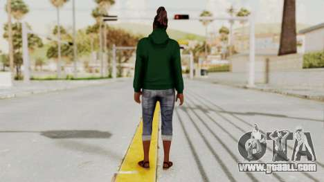 GTA 5 Denise Clinton v2 for GTA San Andreas third screenshot