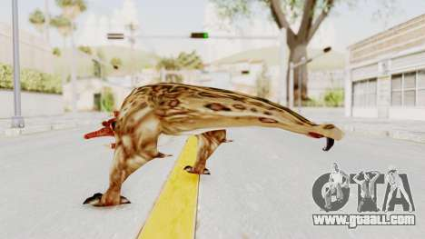 Bullsquid from Half-Life 1 for GTA San Andreas third screenshot