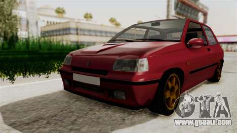 Renault Clio Williams for GTA San Andreas right view