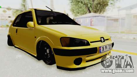 Peugeot 106 for GTA San Andreas