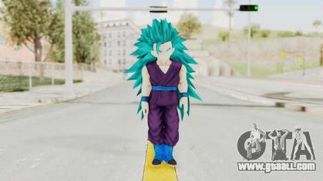 Dragon Ball Xenoverse Gohan Teen DBS SSGSS3 v1 for GTA San Andreas second screenshot